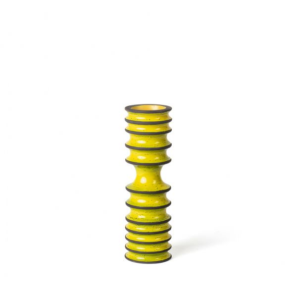 Cristoph Radl - Revolver Collection - Vase CHR 2 Yellow/Brown