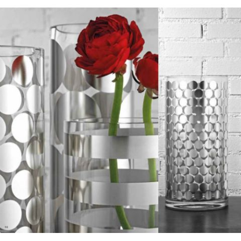 Collection Decorated Vases Italian Design Contract